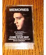 ELVIS PRESLEY MEMORIES CASSETTE ~ 1981 - $41.58