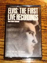 ELVIS THE FIRST LIVE RECORDINGS CASSETTE - $29.69