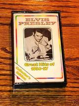 ELVIS PRESLEY GREAT HITS OF 1956-57 CASSETTE - $39.59