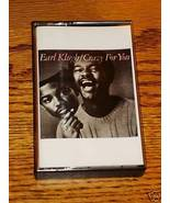 EARL KLUGH CRAZY FOR YOU CASSETTE - $25.73