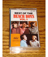 BEST OF THE BEACH BOYS VOLUME 1 CASSETTE - $29.70