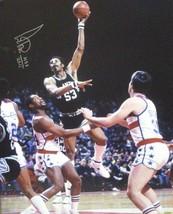 Artis Gilmore signed San Antonio Spurs 16x20 Photo HOF 2011 vs Bullets - £28.99 GBP