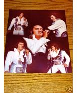 ELVIS CONCERT PHOTO  COLLAGE With Certificate of Auth. - $49.49