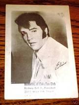 Elvis Presley Fan Club Black & White Postcard 4 x 6 - $14.85