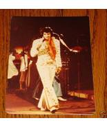 "Elvis Presley Colored Concert Photo 3 1/2"" x 4 3/4"" - $19.79"