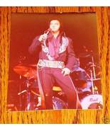 "Elvis Presley Colored Concert Photo 3 1/2"" x 4 1/2"" - $19.79"