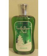 Bath and Body Works New Vanilla Bean Noel Shower Gel 10 oz - $9.95