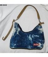 MUDD Girls Hobo Cotton Blue Denim Handbag Purse - $14.99