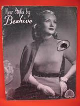 Vintage Beehive Knitting Patterns Pattern Book Women - $9.99