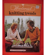 Woolcrest Knitting Crochet Patterns Pattern Book Family - $9.99