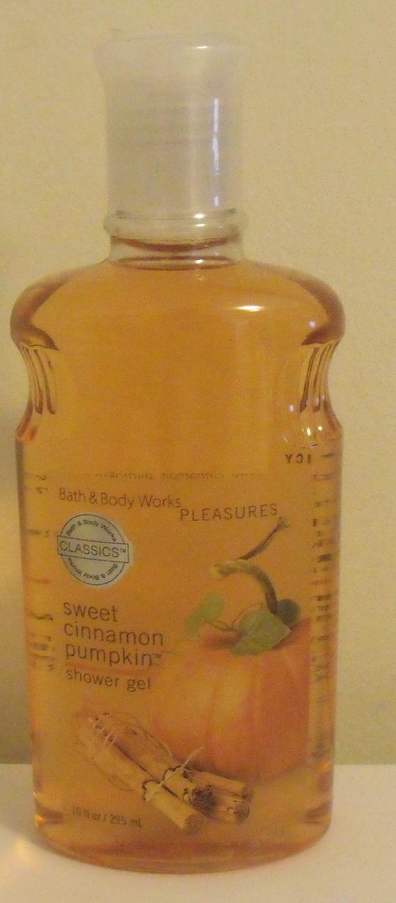 Sweet cinn pumpkin shower gel