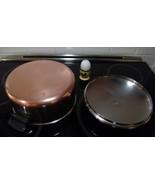 Stainless Copper Clad Stock Pot 4 1/2 Qt w Lid Revere Cookware Clinton IL - $50.07