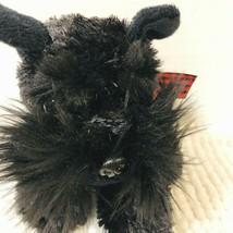 """Aurora Scottie Dog Stuffed Animal Scottie Terrier Dog Black Plush Toy 8""""... - $10.88"""