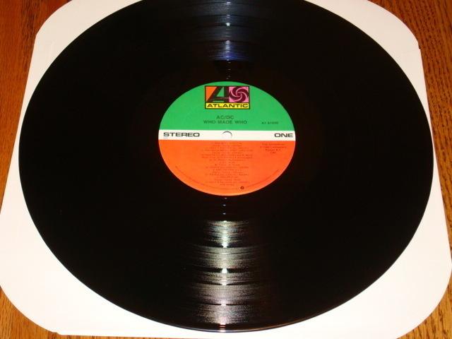 AC/DC WHO MADE WHO ORIGINAL LP