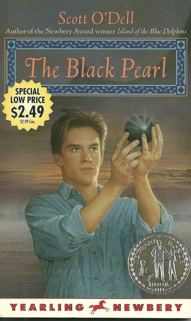 The Black Pearl by Scott O'Dell Softcover Book New