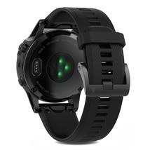 Garmin fenix 5 47mm Multisport GPS Fitness Watch Sapphire Black with Bla... - $593.99