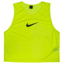 Nike Training BIB Team Pinnies Scrimmage Vest Soccer Football Volt 910936-702 - $15.99