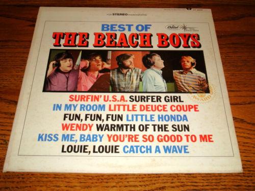 BEST OF THE BEACH BOYS VOLUME ONE  Starline DT-2545
