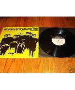 THE BEACH BOYS GREATEST HITS (1961 - 1963) LP - $123.75