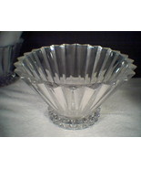 "ROSENTHAL CRYSTAL BOWL / VASE ""BLOSSOM"" NEW IN BOX - $59.00"