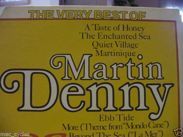 THE VERY BEST OF MARTIN DENNY LP