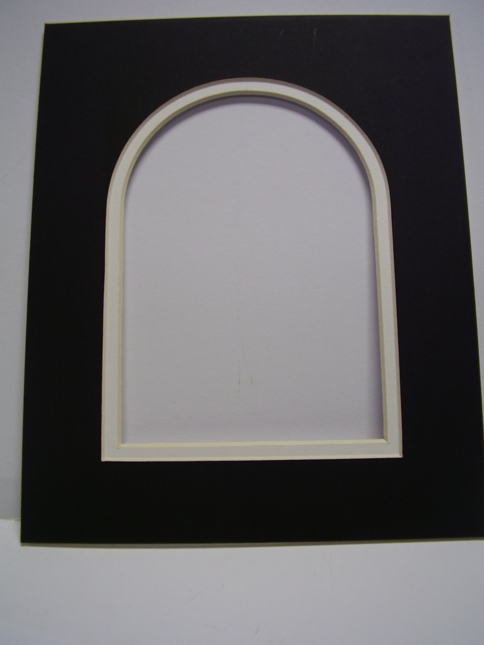 Picture Frame Arch Top  Double Mat 8x10 for 5x7 photo