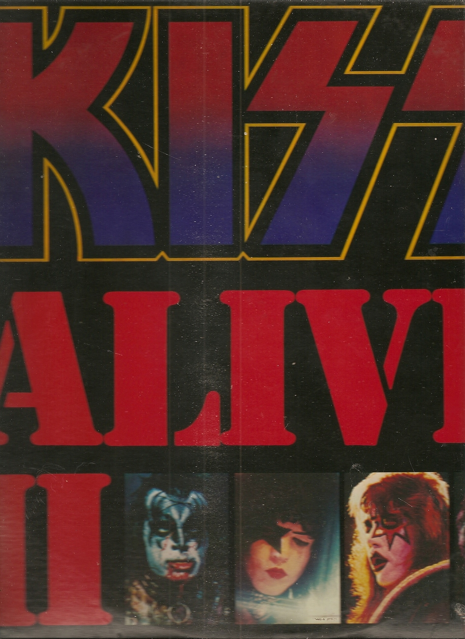 LP--Kiss Alive 2