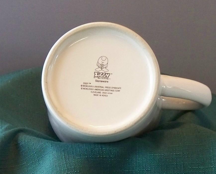 Ziggy Dieting Is A Losing Battle 10 Oz Coffee Mug VGC