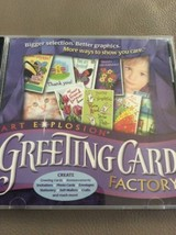 Art Explosion Greeting Card Factory PC CD-ROM Windows 95/98/NT/2000 - $7.69