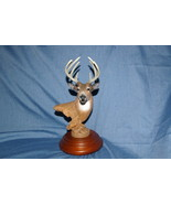 Home Interiors Keeping Watch Buck Resin Figurine 2003 Deer  Homco 12187-03 - $24.99