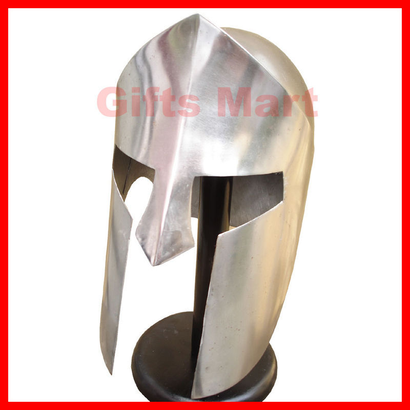 300 Spartan Helmet, Medieval Greek Helmets SCA, Sparta Helm, Movie Replica Larp
