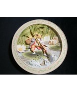 TALE OF MR. JEREMY FISHER 3-D collector plate WORLD OF BEATRIX POTTER Fr... - $64.00