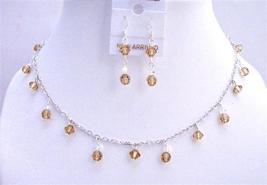Colorado Swarovski Crystals Handmade Bridesmaid Jewelry AB Crystals - $45.88