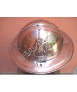 Battle Ready Kettle Helmet, Chapel-De-Fer Helmets, Medieval Kettle Hat A... - $54.18