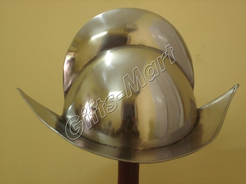 CONQUISTADOR HELMET Spanish Comb Morion Armor Costume KNIGHT, Medieval Armor