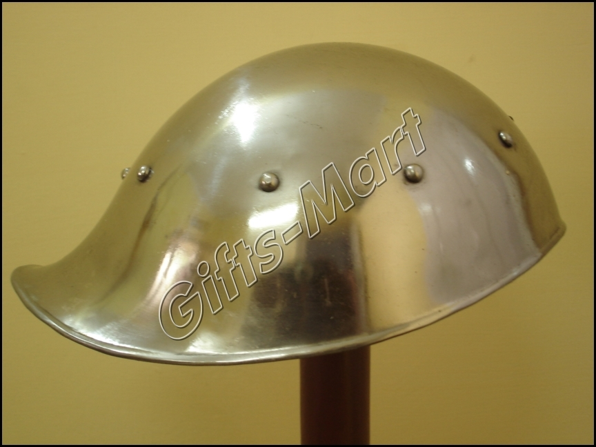 Celesta Tooper Helmet, Celesta helmet with Chin Strap Medieval Xmas Gift Idea