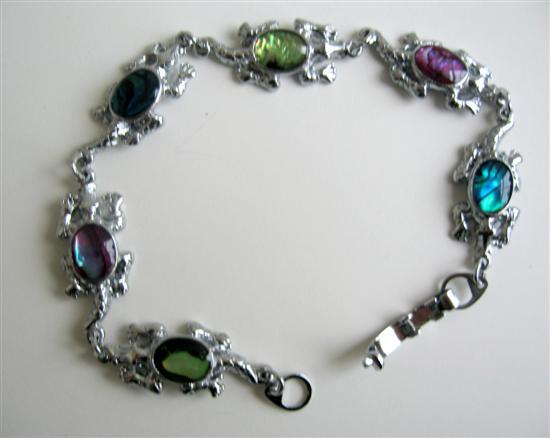 Primary image for Turtle Charm Abalone Shell Bracelet
