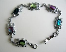Turtle Charm Abalone Shell Bracelet - $11.43