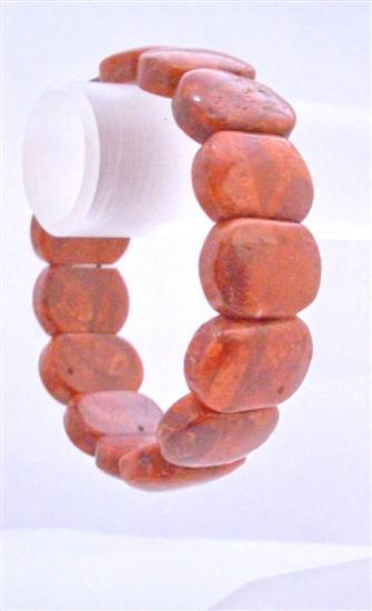 Primary image for Coral Square Bead Bracelet Stretchable Coral Bracelet