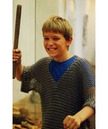 Chainmail Armor Chain Mail Shirt CHILD 10-15 yrs Medieval Fancy Xmas Dre... - $69.78