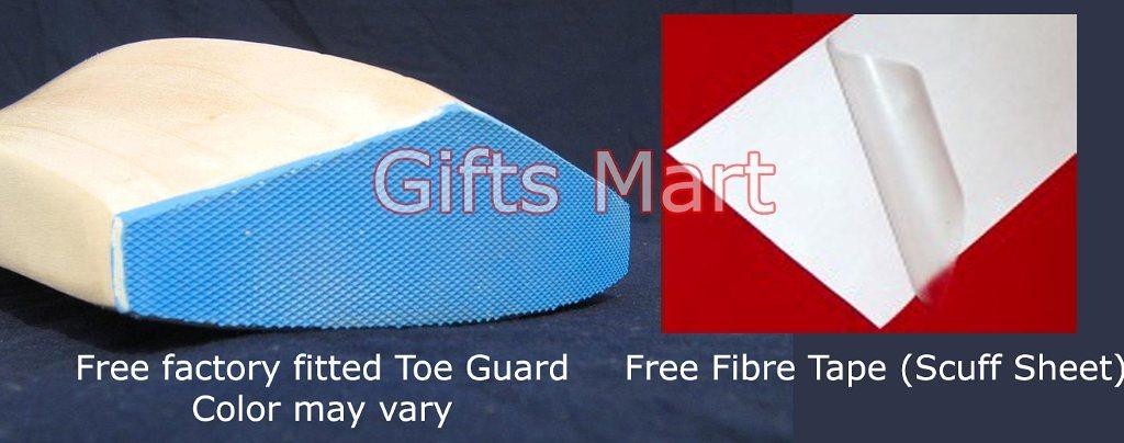 Custom Hand Made English Willow Cricket Bat +Free Cover, Toe Guard, Scuff Sheet*