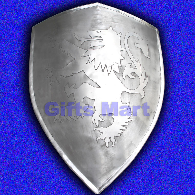 Dragon Lion Shield Ancient Collectables Armour Medieval Reenactment Armor Sca