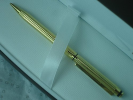 Cross Made in USA Classic Signature Series and 22 Karat Gold Pencil 0.5m... - $142.79