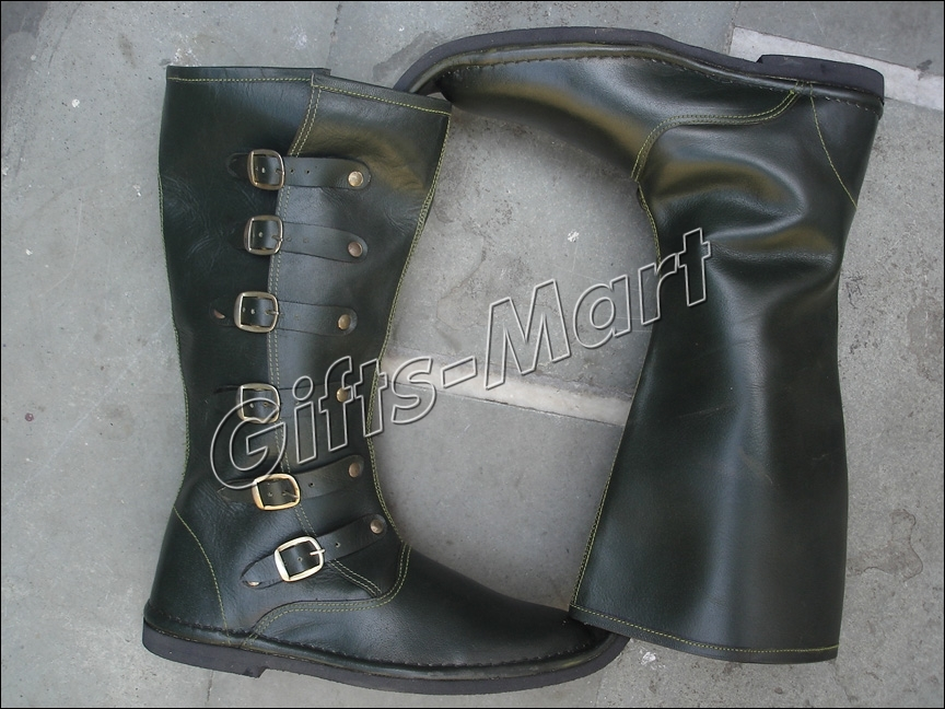 Fancy Medieval Boot,  Stylish Leather Collectables Sca Shoe, Mens Long Boots New