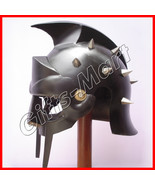 GLADIATOR HELMET Medieval Roman Greek MAXIMUS Helmets Armor New Year Xma... - $46.38