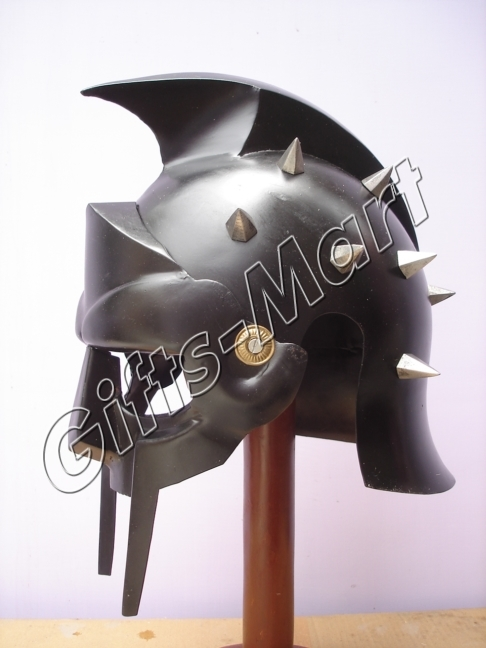 GLADIATOR HELMET Medieval Roman Greek MAXIMUS Helmets Armor New Year Xmas Gift