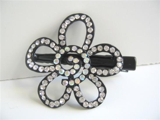 Primary image for Flower Hair Clamps Fully Decorated & Encrusted Hair Clamps Accessories