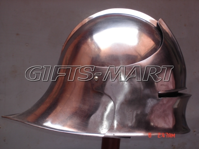German Sallet Helmet European Closehelm, Militaria Military Uniform Costume Sca