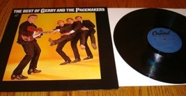 The Best Of GERRY AND THE PACEMAKERS LP - $123.75