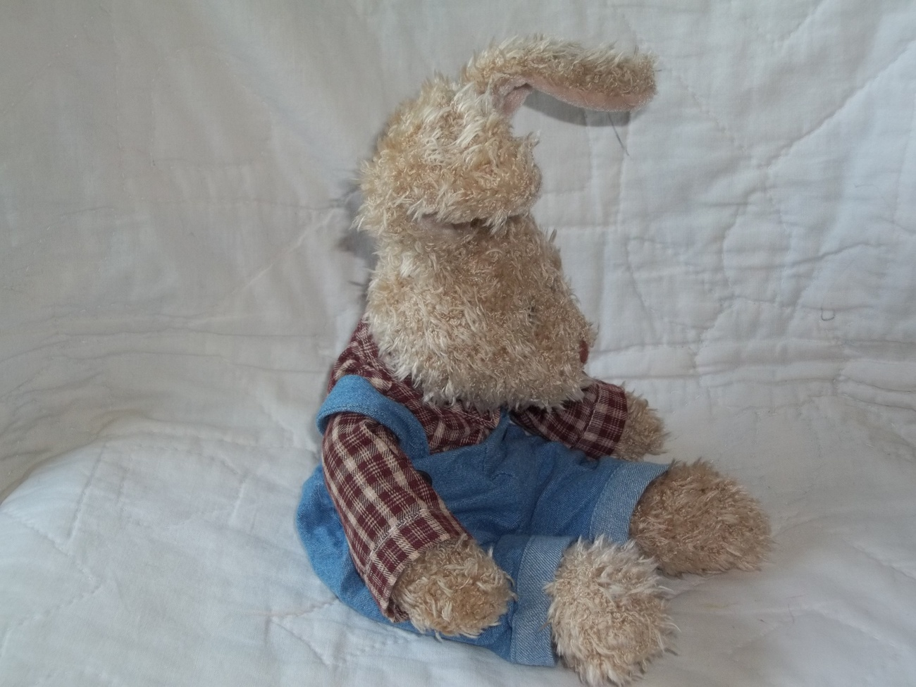 RUSS BERRIE BEARS FROM the PAST #4242 CARTER RABBIT NWT RET